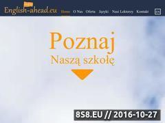 Miniaturka domeny english-ahead.eu