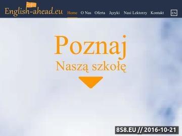 Zrzut strony Angielski - korepetycje Warszawa