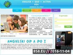 Miniaturka domeny english-geo-active.com