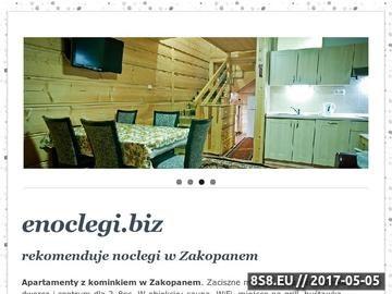 Zrzut strony ENOCLEGI - pensjonaty, kwatery, domki