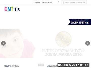 Zrzut strony Profilaktyka nawracających infekcji nosa, ucha i gardła