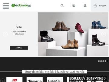 Zrzut strony Buty online