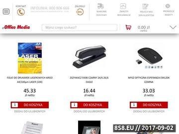 Zrzut strony Artykuły biurowe sklep internetowy