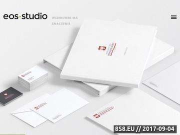 Zrzut strony Identyfikacja wizualna firm, projektowanie logo