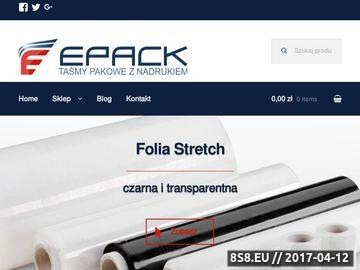 Zrzut strony Producent taśm pakowych z nadrukiem firmowym i folii stretch