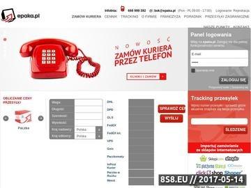Zrzut strony Przesyłki kurierskie Poznań