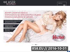 Miniaturka domeny www.epilaser.pl