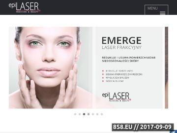 Zrzut strony Depilacja laserowa, laserowe zamykanie naczynek - epiLaser