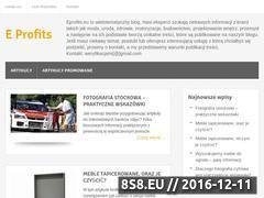 Miniaturka domeny www.eprofits.eu