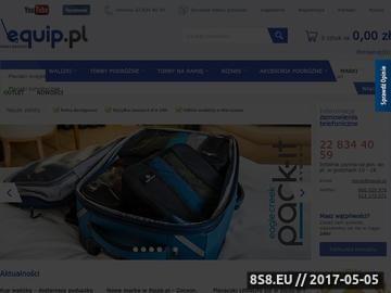 Zrzut strony Equip.pl - plecaki, walizki, torby