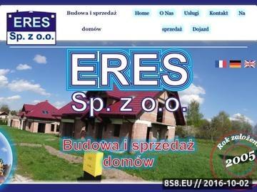 Zrzut strony Firma oferuje sprzedaż domów jednorodzinnych Racławówka Rzeszów