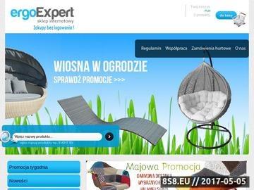 Zrzut strony Ergoexpert.pl - meble biurowe