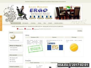 Zrzut strony ERGO - sklep meblowy
