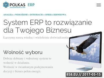 Zrzut strony Systemy ERP