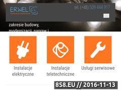 Miniaturka domeny erwel.pl