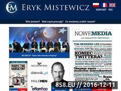 Miniaturka domeny www.erykmistewicz.pl