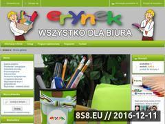 Miniaturka domeny www.erynek.eu