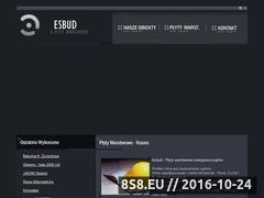 Miniaturka domeny esbud.com.pl