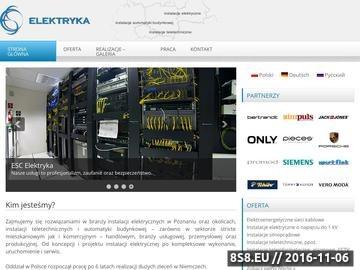 Zrzut strony Instalacje elektryczne Poznań