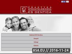Miniaturka domeny www.esdentica.pl