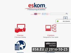 Miniaturka domeny www.eskom.eu