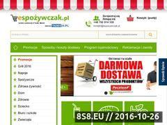 Miniaturka domeny www.espozywczak.pl