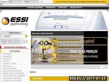 Zrzut strony ESSI - serwis urządzeń