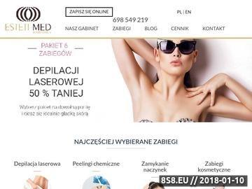 Zrzut strony Pedicure w najlepszym gabinecie medycyny estetycznej w mieście Warszawa