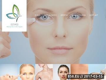 Zrzut strony Gabinet Medycyny Estetycznej na Śląsku