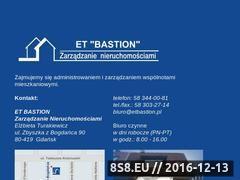 Miniaturka domeny etbastion.strefa.pl