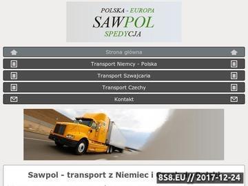 Zrzut strony Sawpol - transport do Hiszpanii