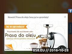 Miniaturka Wyciskarki do soków oraz sokowirówki (www.eujuicers.pl)