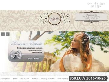 Zrzut strony Sala weselna w Sosnowcu