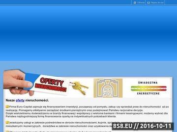 Zrzut strony Euro-Capital :: Nieruchomości, Inwestycje,Finanse