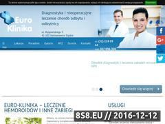 Miniaturka domeny www.euro-klinika.pl