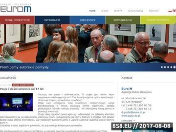 Zrzut strony Firma eventowa