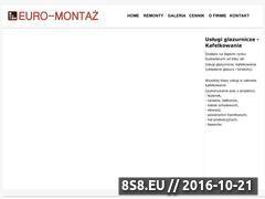 Miniaturka domeny www.euro-montaz.com