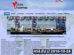 Miniaturka domeny www.euro-shipping.com.pl