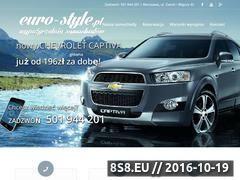 Miniaturka domeny www.euro-style.pl