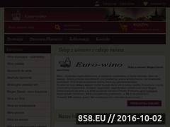 Miniaturka domeny www.euro-wino.pl
