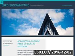 Miniaturka Portal branży budowlanej - firmy, giełda, przetargi (www.eurobudownictwo.pl)