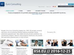 Miniaturka domeny www.euroconsulting.pl