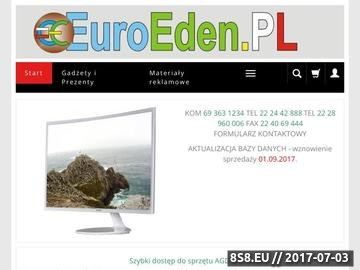 Zrzut strony EuroEden.pl