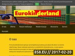 Miniaturka domeny www.eurokinderland.pl