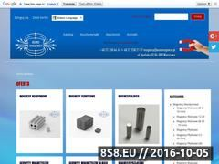 Miniaturka domeny www.euromagnesy.pl