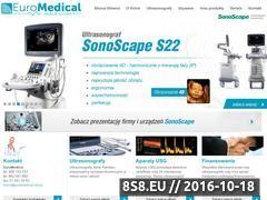 Miniaturka domeny www.euromedical.net.pl
