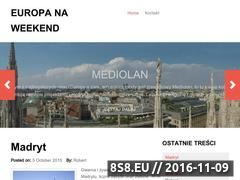 Miniaturka domeny www.europanaweekend.pl