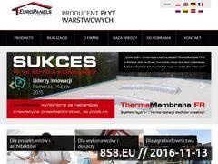 Miniaturka domeny www.europanels.pl