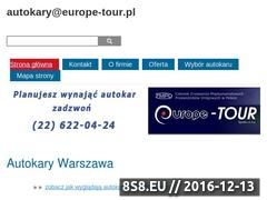 Miniaturka domeny europe-tour.pl