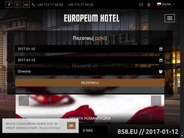 Zrzut strony Hotel Wrocław